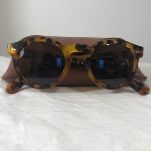 Ralph Lauren Collection Tortoise Sunglasses